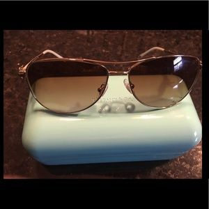 Tiffany and Co Aviator Bow Sunglasses